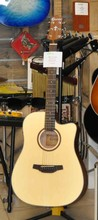 Crafter Guitars HD-100 CE NATURAL OPEN PORE
