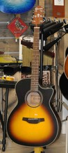 Crafter Guitars HT-100 CE VINTAGE SUNBURST OPEN PORE