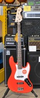 Squier FENDER AFFINITY JAZZ BASS RW RACE RED