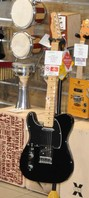 Fender TELECASTER PLAYER BK LH MANCINA LEFT