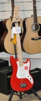 Squier BRONCO BASS Maple Neck Torino Red