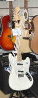 Fender Mustang Maple Neck Olympic White