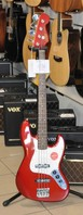Squier Contemporary Jazz Bass LRL CANDY DARK RED
